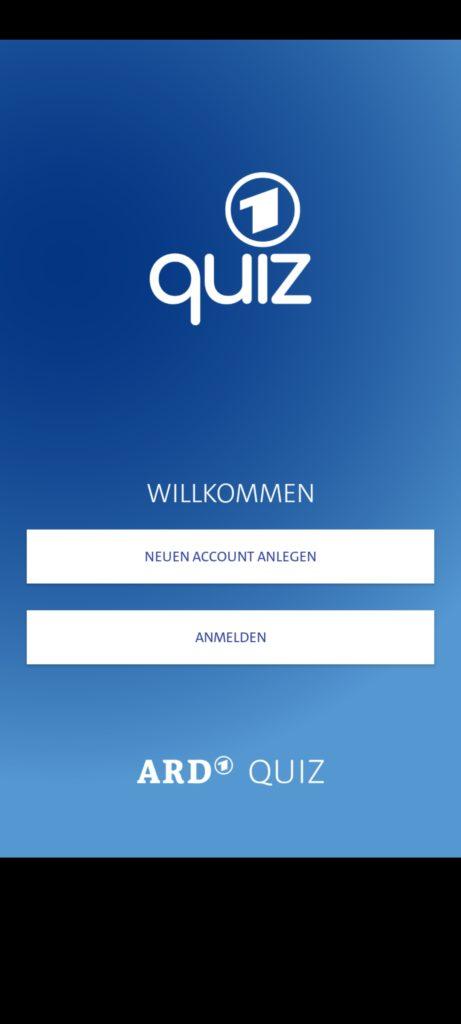Screenshot of ARD Quiz