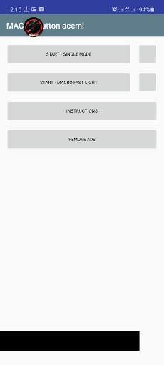 Screenshot of MACRO Button acemi
